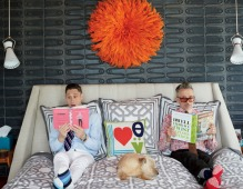 Jonathan Adler and Simon Doonan's Shelter Island Home